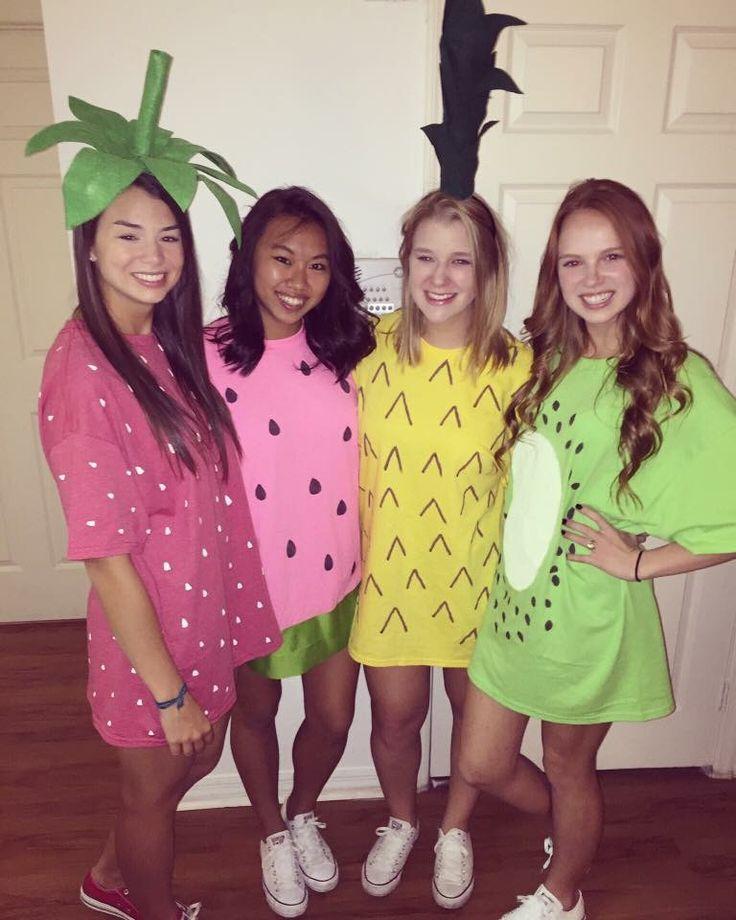 Halloween Costumes For 4 Friends.Easy Diy Halloween Costumes