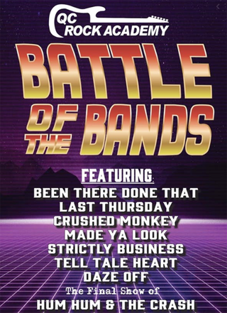 Seven bands battled out during the holiday season