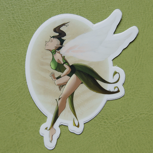 Mohawk Fairy Sticker