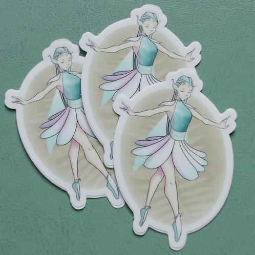 Ballet Fairy Sticker
