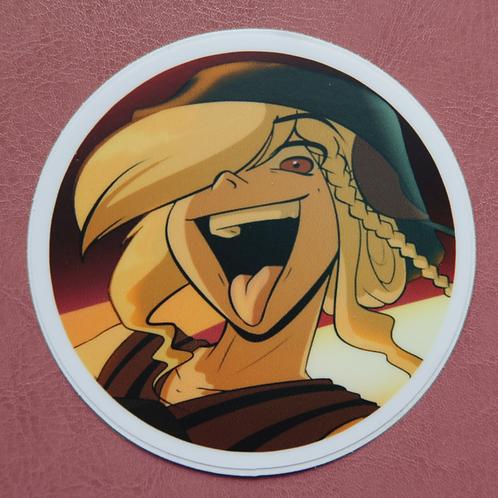 Marigold Circle Sticker