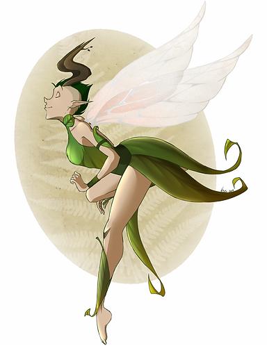 Mohawk Fairy
