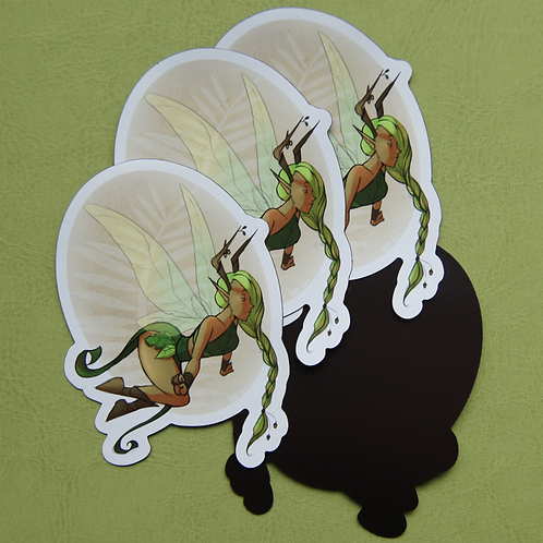 Forest Fairy Magnet