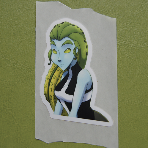 Octo Girl Sticker