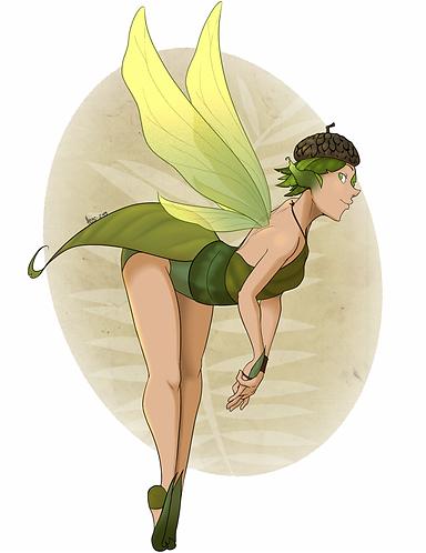 Acorn Hat Fairy