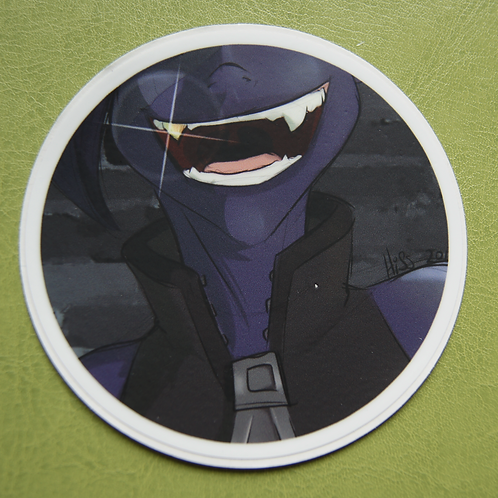 Drow Circle Sticker