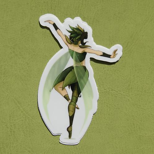 Dancing Fairy Sticker