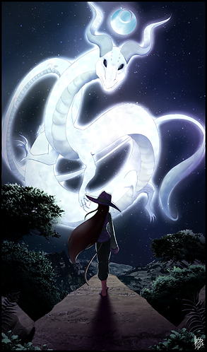D&D - Lunar Dragon