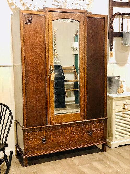 1920's Dutch armoire with key