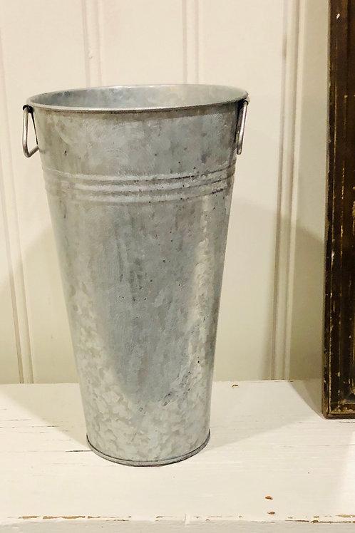 Metal floral bucket