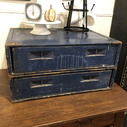 Vintage pastry crate