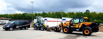 Hjullastare utbildning Helsingborg