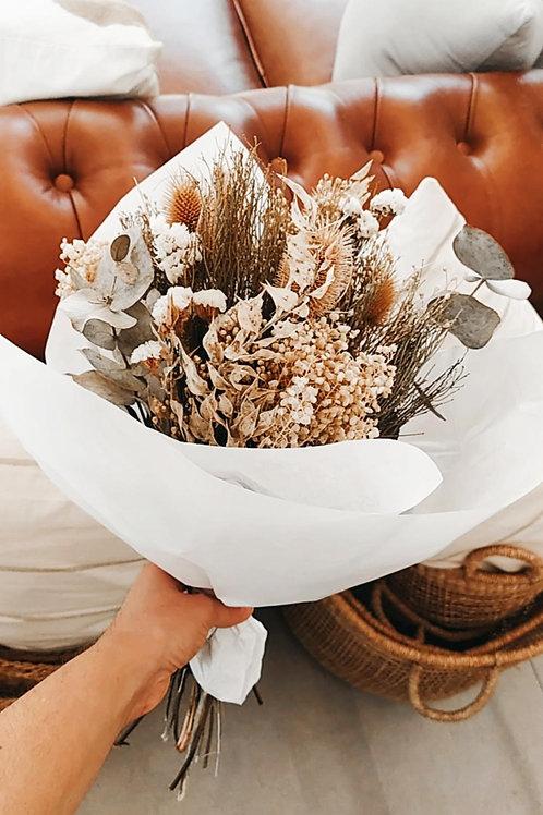 Ramo de flores conservadas