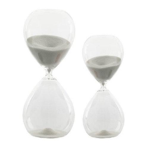 Reloj arena blanco