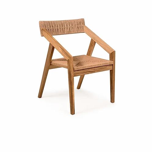 Silla Aguja con asiento tejido