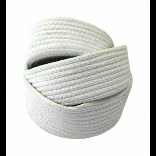 Contenedor de algodón tejido