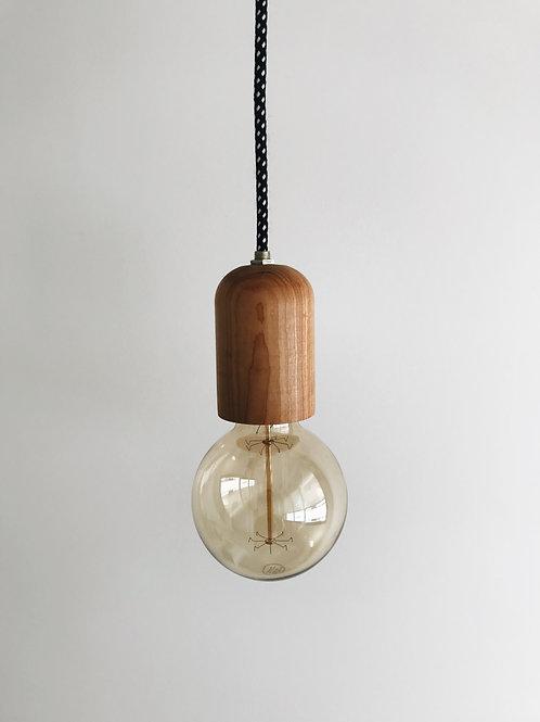Lámpara de techo madera