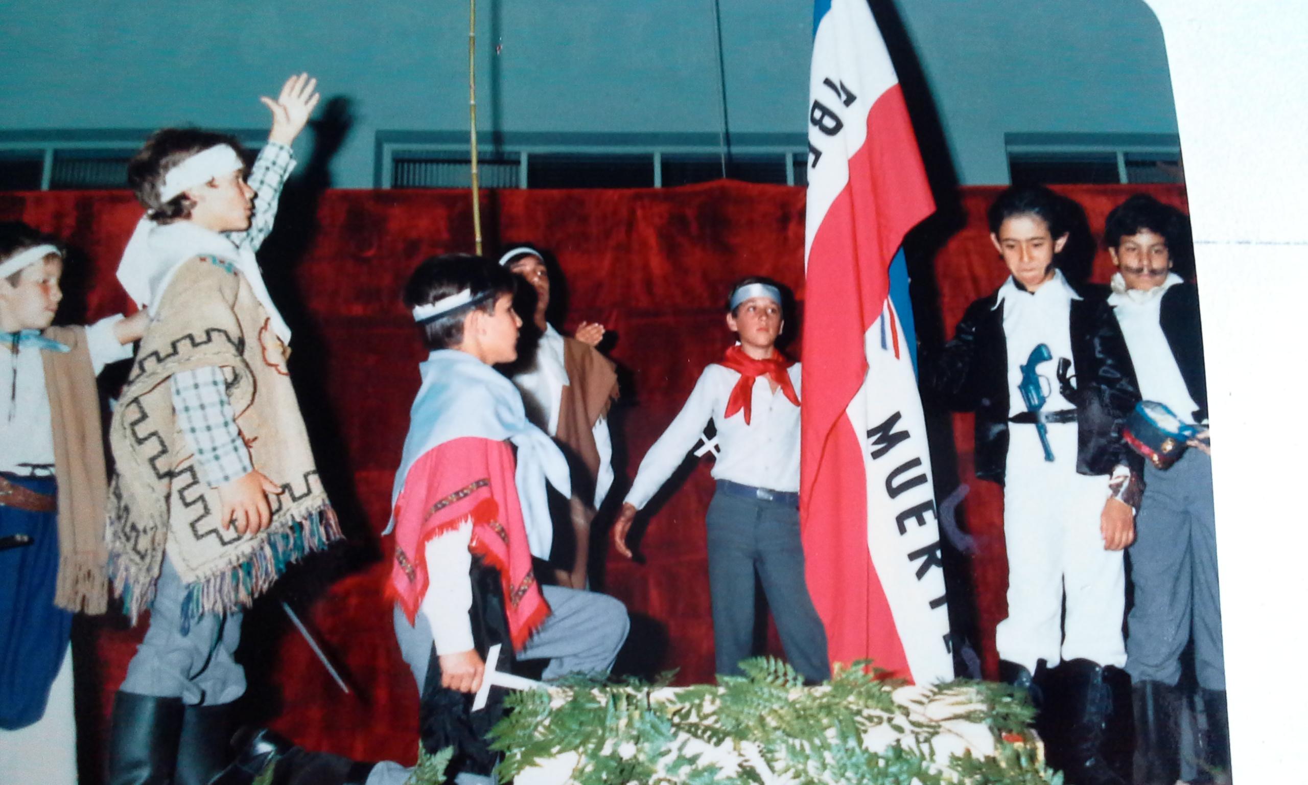 Primaria Fiesta fin curso_1983