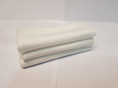 3 pack Lint free quilted applicator cloths