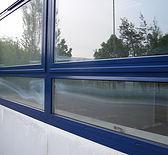 Powder coated window restoration