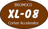 XL-08 corten accelerater Logo BROMOCO.pn