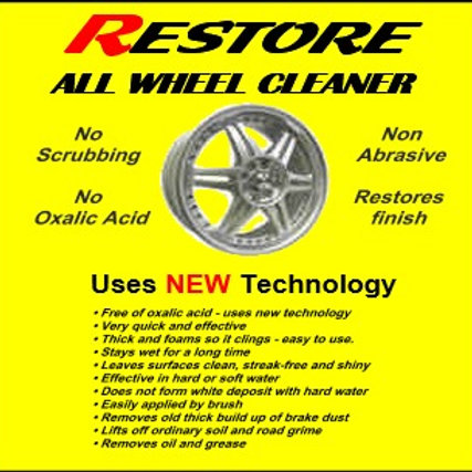 RESTORE Wheel Cleaner Small 250 ml