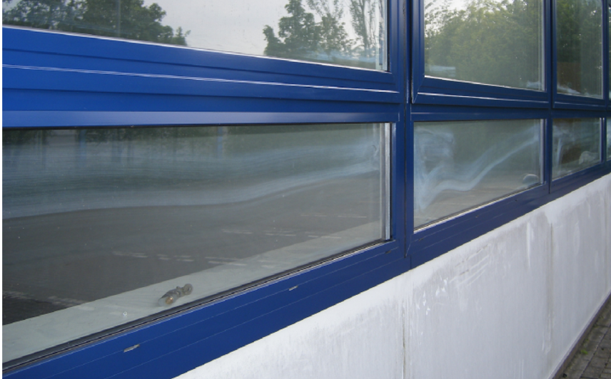 restore powder coated window frames after bromoco