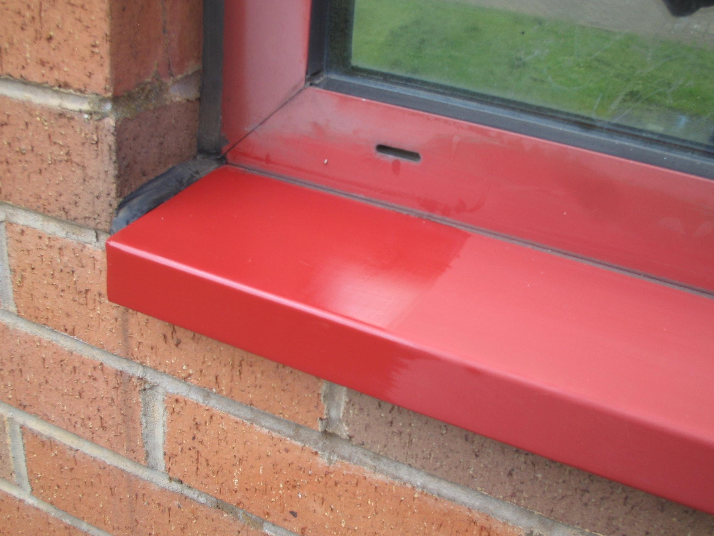 Restore faded powder coated windows