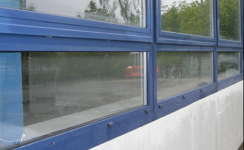 restore powder coated window frames before bromoco