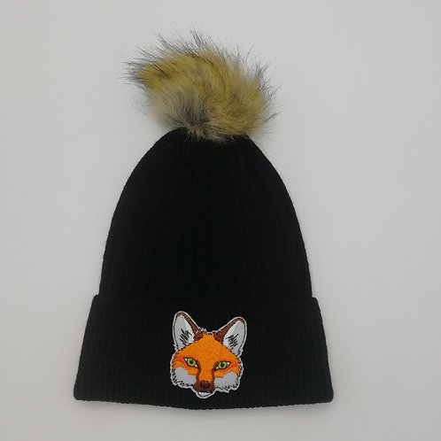 FOX POM BEANIE