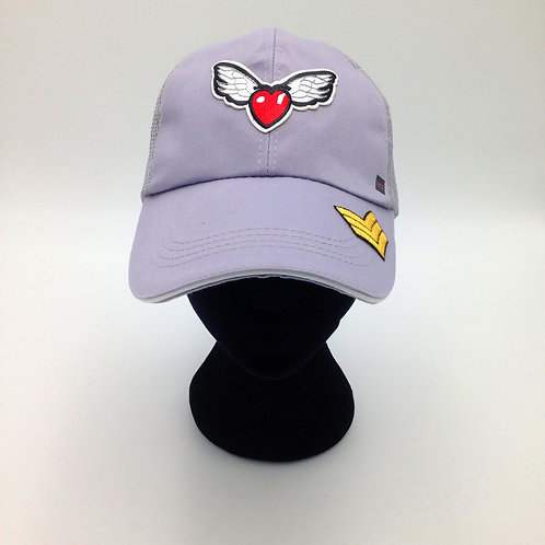 WINGED HEART CAP