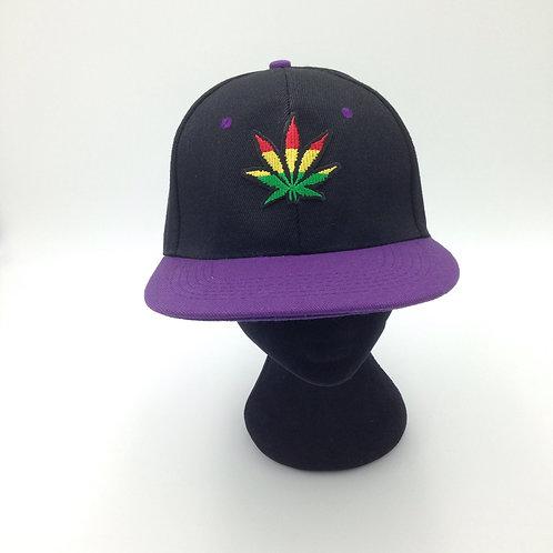 RASTA LEAF CAP