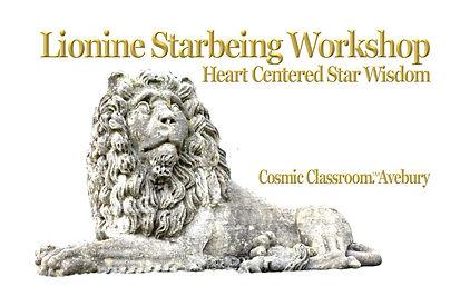 Star Lion. White Lion. Online Meditation
