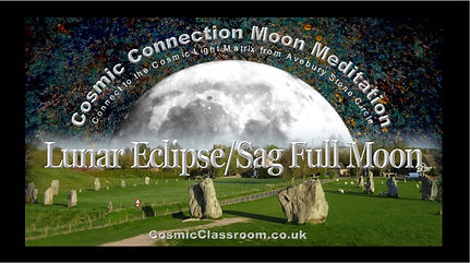 Lunar Eclipse. Avebury Meditation Worksh