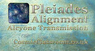 Pleiades Online Meditaiton Workshop. Alc