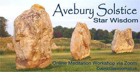 Avebury Solstice Star Wisdom. Cosmic Cla
