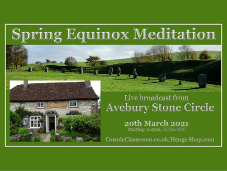 Spring Equinox in Avebury ~ Starting a new cycle of starlight expansion
