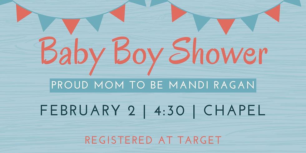 Mandi Ragan's Baby Boy Shower