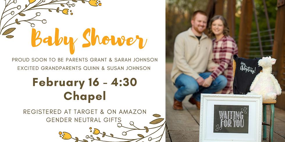 Sarah & Grant Johnson's Baby Shower