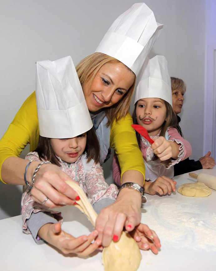 Curso de cocina infantil - Estacion Gourmet - valor Creativo Comunicacion