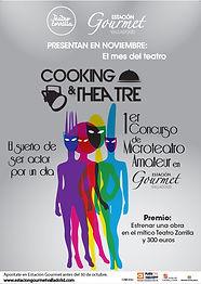 Concurso de Microteatro Estación Gourmet Valor Creativo Comunicación