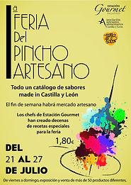 Feria del Pincho Artesano Estación Gourmet Valor Creativo Comunicación