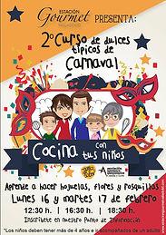 Concurso dulces de Carnaval Estación Gourmet Valor Creativo Comunicación