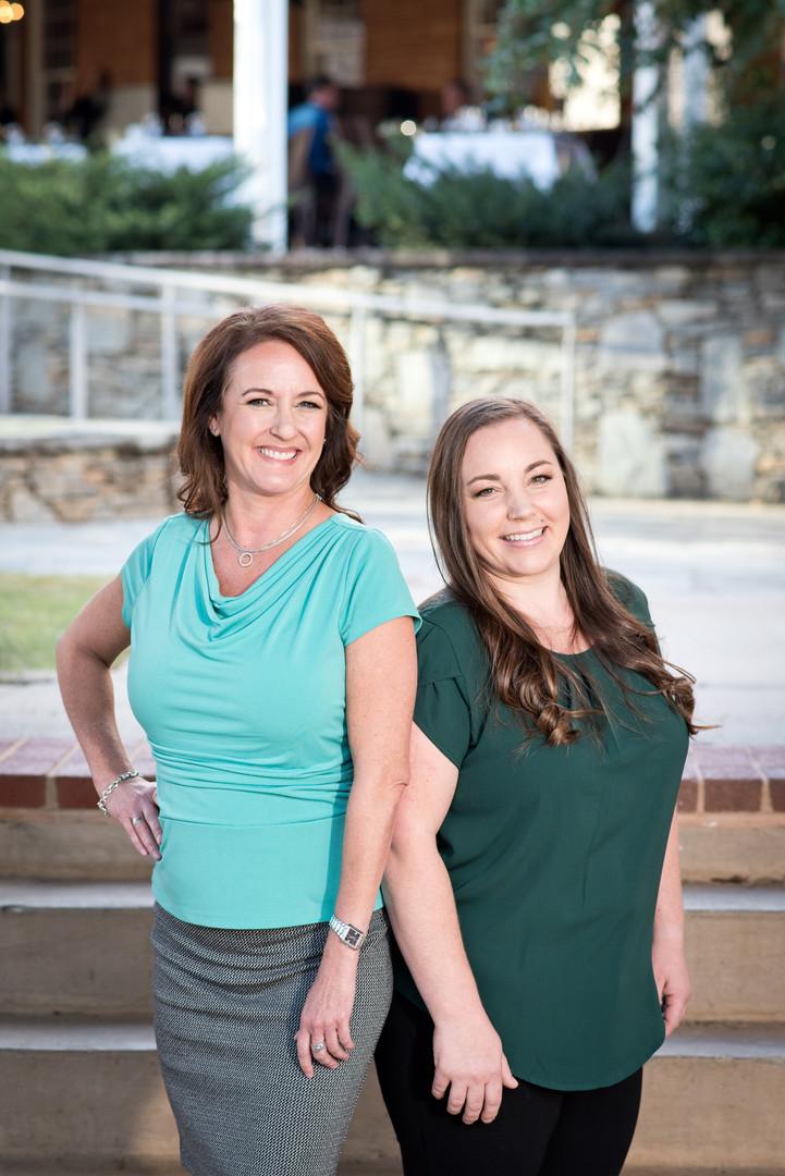 Kristina and Sarah