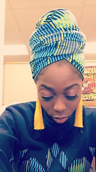 Stripped Headwrap