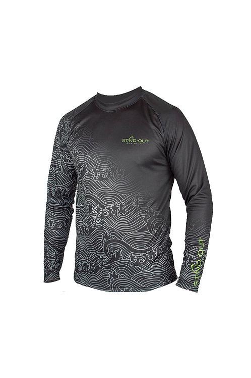 Wave Shade Shirt dark