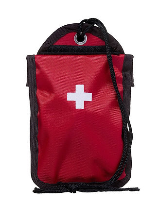Førstehjælpsæt i rød