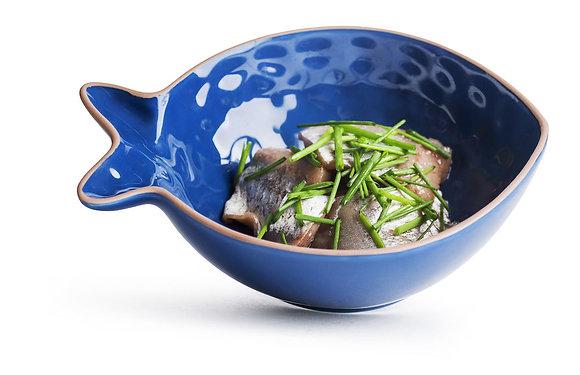 Fish skål H 6 cm - Flere farver