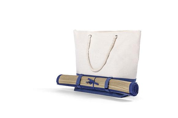 Strandtaske med måtte - Flere farver
