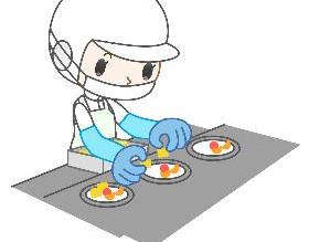 ☆札幌市南区、社員食堂での調理補助、無資格OK、シフト制、車通勤OK♪